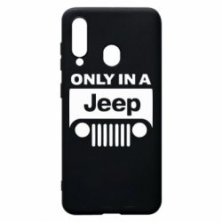 Чехол для Samsung A60 Only in a Jeep