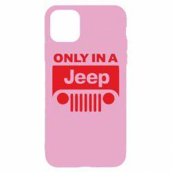 Чехол для iPhone 11 Only in a Jeep