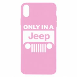 Чехол для iPhone X/Xs Only in a Jeep