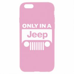 Чехол для iPhone 6/6S Only in a Jeep