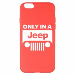 Чехол для iPhone 6 Plus/6S Plus Only in a Jeep - FatLine