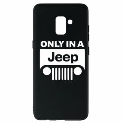 Чехол для Samsung A8+ 2018 Only in a Jeep
