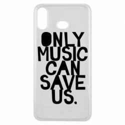 Чехол для Samsung A6s Only music can save us.