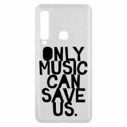 Чехол для Samsung A9 2018 Only music can save us.