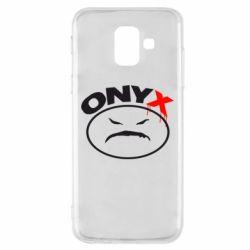 Купить Чехол для Samsung A6 2018 Onyx, FatLine