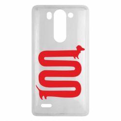 Чехол для LG G3 mini/G3s оооочень длинная такса - FatLine