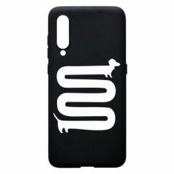Чехол для Xiaomi Mi9 оооочень длинная такса - FatLine