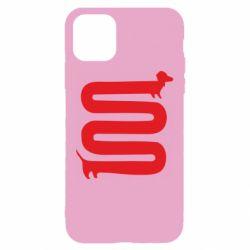 Чехол для iPhone 11 оооочень длинная такса - FatLine