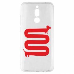 Чехол для Xiaomi Redmi 8 оооочень длинная такса