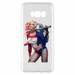 Чехол для Samsung S8 Опасная Харли Квинн - FatLine