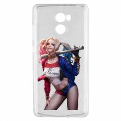 Чехол для Xiaomi Redmi 4 Опасная Харли Квинн - FatLine