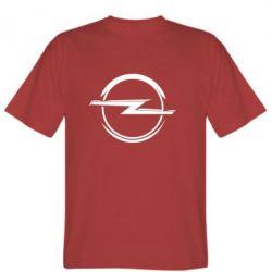 Мужская футболка Opel Log - FatLine