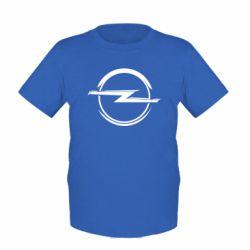 Детская футболка Opel Log - FatLine