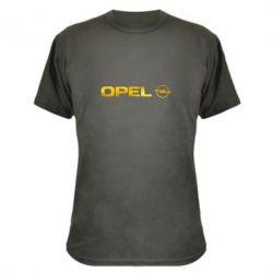 Камуфляжна футболка Opel Logo Голограма