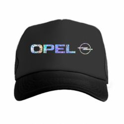 Кепка-тракер Opel Logo Голограмма