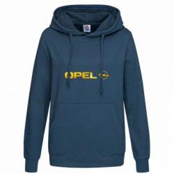Женская толстовка Opel Logo Голограмма