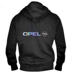 Мужская толстовка на молнии Opel Logo Голограмма