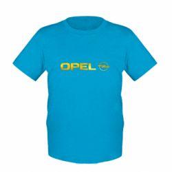 Детская футболка Opel Logo Голограмма