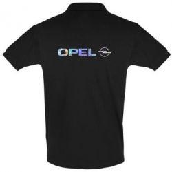 Футболка Поло Opel Logo Голограмма