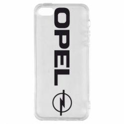 Чехол для iPhone5/5S/SE Opel Logo