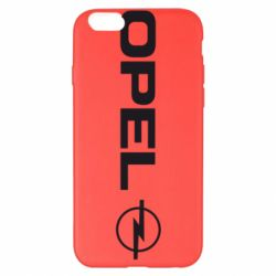 Чехол для iPhone 6 Plus/6S Plus Opel Logo