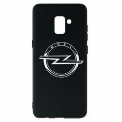 Чохол для Samsung A8+ 2018 Opel logo