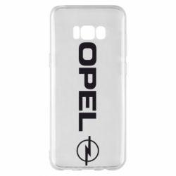 Чехол для Samsung S8+ Opel Logo
