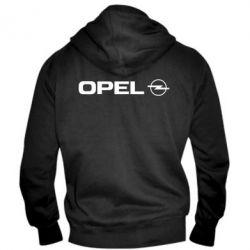 Мужская толстовка на молнии Opel Logo - FatLine