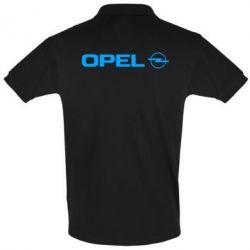 Мужская футболка поло Opel Logo