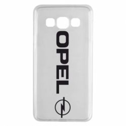Чехол для Samsung A3 2015 Opel Logo