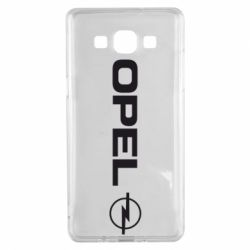 Чехол для Samsung A5 2015 Opel Logo