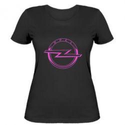 Жіноча футболка Opel logo