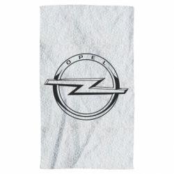Рушник Opel logo