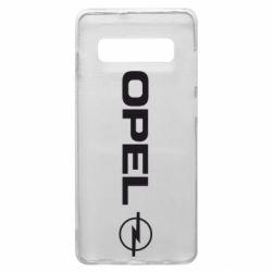 Чехол для Samsung S10+ Opel Logo