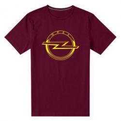 Чоловіча стрейчева футболка Opel logo