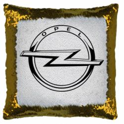 Подушка-хамелеон Opel logo