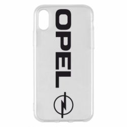 Чехол для iPhone X/Xs Opel Logo