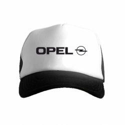 Детская кепка-тракер Opel Logo