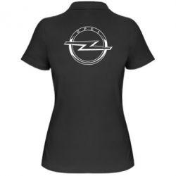 Жіноча футболка поло Opel logo