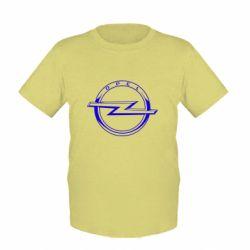 Дитяча футболка Opel logo