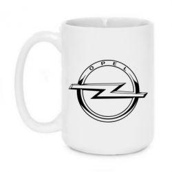 Кружка 420ml Opel logo
