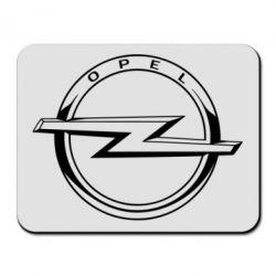 Килимок для миші Opel logo