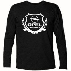 Купить Футболка с длинным рукавом Opel motors, FatLine