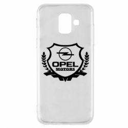 Купить Чехол для Samsung A6 2018 Opel motors, FatLine