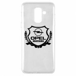 Купить Чехол для Samsung A6+ 2018 Opel motors, FatLine