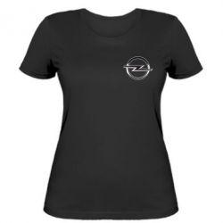 Женская футболка Opel Small
