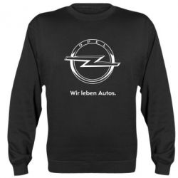 Реглан (свитшот) Opel Wir leben Autos - FatLine
