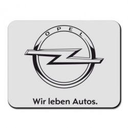 Коврик для мыши Opel Wir leben Autos - FatLine