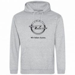 Толстовка Opel Wir leben Autos - FatLine