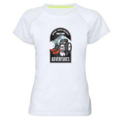 Жіноча спортивна футболка Open Your Heart